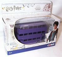 Harry Potter - Triple Decker Knight Bus 1:76 Scale (Die-Cast Metal Collectable)