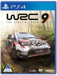 World Rally Championship 9 - WRC 9 - The Official Game (PS4) - Cover