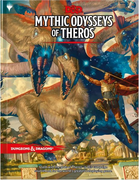 Dungeons & Dragons - Mythic Odysseys of Theros (Role Playing Game)