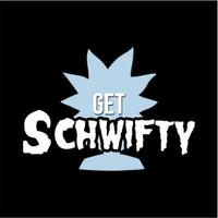Schwifty Womens T-Shirt Black (Large)