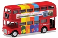 The Beatles - 1/64 London Bus - 'a Hard Day's Night' Die Cast