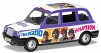 The Beatles - 1/36 London Taxi - 'Hey Jude' Die Cast
