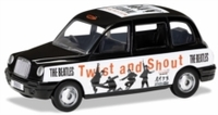 The Beatles - 1/36 London Taxi - 'Twist and Shout' Die Cast