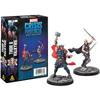 Marvel: Crisis Protocol - Thor and Valkyrie Character Pack (Miniatures)
