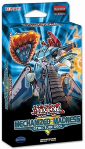 Yu-Gi-Oh! - Structure Deck - Mechanized Madness (Card Game) - Cover