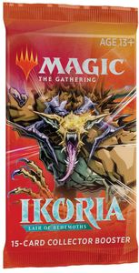 Magic: The Gathering - Ikoria: Lair of Behemoths Collector Single Booster (Trading Card Game) - Cover