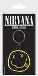 Nirvana - Smiley Rubber Keychain