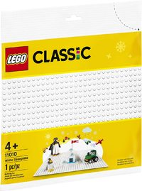 LEGO® Classic - White Baseplate (1 Piece) - Cover