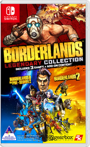 Borderlands Legendary Collection (Nintendo Switch) - Cover