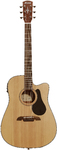 Alvarez AD30CE Artist 30 Series Dreadnought Acoustic Electric Guitar (Natural)