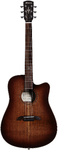 Alvarez Artist Elite Series Slim Dreadnought Acoustic Guitar (Natural with Burst)