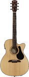 Alvarez AF30CE Artist Series Folk Acoustic Guitar (Natural)