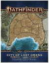 Pathfinder (Second Edition) - City of Lost Omens - Poster Map Folio (Role Playing Game)