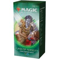 Magic: The Gathering - Challenger Deck 2020 - Flash of Ferocity (Trading Card Game)