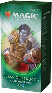 Magic: The Gathering - Challenger Deck 2020 - Flash of Ferocity (Trading Card Game) - Cover