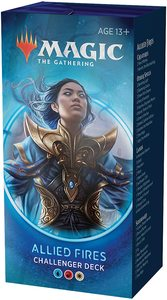 Magic: The Gathering - Challenger Deck 2020 - Allied Fires (Trading Card Game) - Cover
