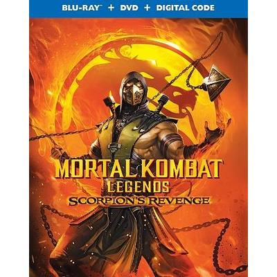 Mortal Kombat Legends: Scorpion's Revenge (Region A Blu-ray)