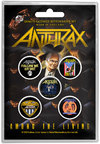 Anthrax - Among the Living Button Badges (Set of 5)
