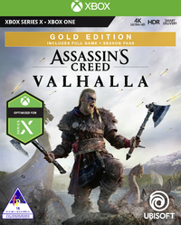 Assassin's Creed Valhalla - Gold Edition (Xbox One / Xbox Series X) - Cover
