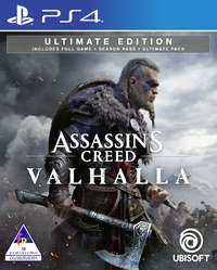 Assassin's Creed Valhalla - Ultimate Edition (PS4) - Cover