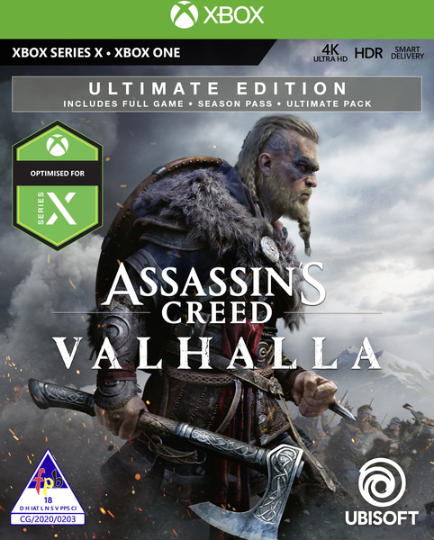 Assassin S Creed Valhalla Ultimate Edition Xbox One Xbox