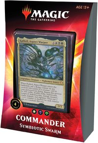 Magic: The Gathering - Ikoria: Lair of Behemoths Commander Deck - Symbiotic Swarm (Trading Card Game) - Cover