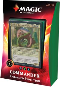 Magic: The Gathering - Ikoria: Lair of Behemoths Commander Deck - Enhanced Evolution (Trading Card Game) - Cover