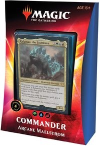 Magic: The Gathering - Ikoria: Lair of Behemoths Commander Deck - Arcane Maelstrom (Trading Card Game) - Cover