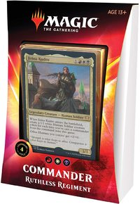Magic: The Gathering - Ikoria: Lair of Behemoths Commander Deck - Ruthless Regiment (Trading Card Game) - Cover