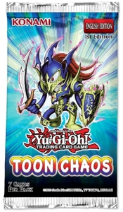 Yu-Gi-Oh! - Toon Chaos [Ultimate Edition] Single Booster (Trading Card Game) - Cover