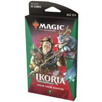 Magic: The Gathering - Ikoria: Lair of Behemoths Theme Booster - Green (Trading Card Game)