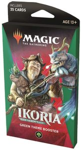 Magic: The Gathering - Ikoria: Lair of Behemoths Theme Booster - Green (Trading Card Game) - Cover