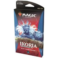 Magic: The Gathering - Ikoria: Lair of Behemoths Theme Booster - Blue (Trading Card Game)