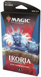 Magic: The Gathering - Ikoria: Lair of Behemoths Theme Booster - Blue (Trading Card Game) - Cover