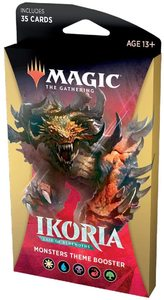 Magic: The Gathering - Ikoria: Lair of Behemoths Theme Booster - Monsters (Trading Card Game) - Cover