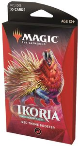 Magic: The Gathering - Ikoria: Lair of Behemoths Theme Booster - Red (Trading Card Game) - Cover