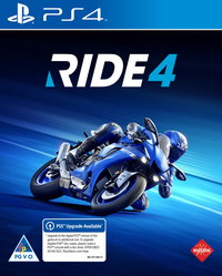RIDE 4 (PS4/PS5 Upgrade Available) - Cover