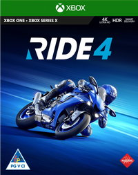 RIDE 4 (Xbox One / Xbox Series X) - Cover
