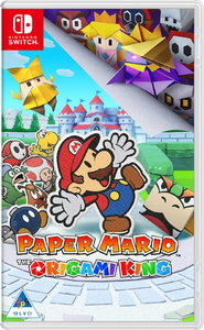 Paper Mario: The Origami King (Nintendo Switch) - Cover