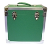 Green - 50 LP Record Storage Carry Case