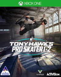 Tony Hawk's Pro Skater 1 + 2 (Xbox One) - Cover