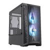Cooler Master Masterbox MB311L ARGB Micro-ATX Chassis - Tempered Glass Panel