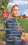 The Amish Spinster's Courtship And Her New Amish Family - Emma Miller (Paperback)