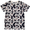 Mickey Mouse - Aop Heads Unisex T-Shirt - White (Large)