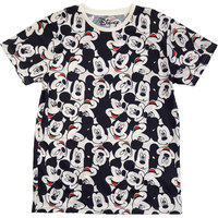 Mickey Mouse - Aop Heads Unisex T-Shirt - White (X-Small) - Cover