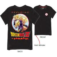Dragon Ball Z - Super Saiyan T-Shirt - Black (11-12 Years)