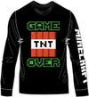 Minecraft - Game Over - Long Sleeve T-Shirt - Black (7-8 Years)