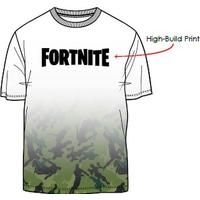 Fortnite - Camo Gradient T-Shirt - Multi-colour (9-10 Years)