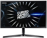 Samsung - LC24RG50FQU 23.5 inch Curved 144hz Gaming Computer Monitor