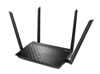 ASUS RT-AC57U AC1200 Dual Band WiFi Router with four external antennas and Parental Control 300 Mbps - Cover